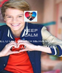 KEEP CALM WILL U GO OUT WITH ME HALEY MURRAY FROM JACE NORMAN  - Personalised Poster A1 size