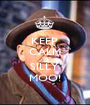 KEEP  CALM YA  SILLY  MOO! - Personalised Poster A1 size