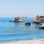 KEEP CALM YOU WILL BE IN CYPRUS THIS SUMMER - Personalised Poster A1 size