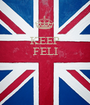 KEEP FELI    - Personalised Poster A1 size
