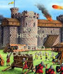 KEEP HELPING AND DEFEND YOUR CASTLE  - Personalised Poster A1 size
