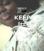 KEEP Itz Tierra Walker Baby - Personalised Poster A1 size