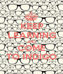 KEEP LEARNING AND COME TO INDIGO - Personalised Poster A1 size