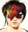 KEEP LOVEING EMO   - Personalised Poster A1 size