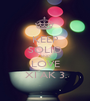 KEEP SOLID AND LOVE XI AK 3 - Personalised Poster A1 size