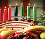 KEEP SUPER CALM & HAPPY KWANZAA  FACEBOOK FRIENDS &  FANS! - Personalised Poster A1 size