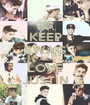 KEEP SWAG AND LOVE JUSTIN - Personalised Poster A1 size