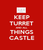 KEEP TURRET AND ALL THINGS CASTLE - Personalised Poster A1 size