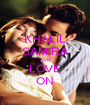 KHALIL SAMIRA AND LOVE ON - Personalised Poster A1 size