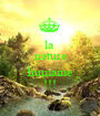 la  nature  humaine !!! - Personalised Poster A1 size
