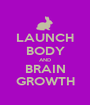 LAUNCH BODY AND BRAIN GROWTH - Personalised Poster A1 size