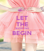 LET THE SHOPPING BEGIN  - Personalised Poster A1 size