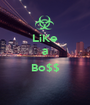 LiKe a  Bo$$  - Personalised Poster A1 size