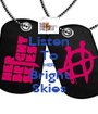Listen To HER Bright Skies - Personalised Poster A1 size