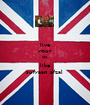 live your life like sufyaan afzal  - Personalised Poster A1 size