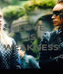 LOVE IS A WEAKNESS  - Personalised Poster A1 size