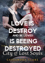 LOVE IS DESTROY AND BE LOVED  IS BEEING DESTROYED - Personalised Poster A1 size