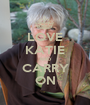 LOVE KATIE AND CARRY ON - Personalised Poster A1 size