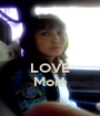 LOVE Mom - Personalised Poster A1 size