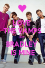 LOVE  THE VAMPS BUT  BRADLEY  IS MINE - Personalised Poster A1 size