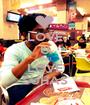LOVE U RAKI LOVE SUHAS - Personalised Poster A1 size