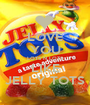 LOVE YOU LOTS N LOTS LIKE JELLY TOTS - Personalised Poster A1 size