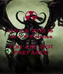 LUCCA 2012 IS  Bro-A-Paloosa  YOU ARE NOT PREPARED - Personalised Poster A1 size