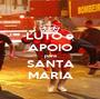 LUTO e APOIO para SANTA MARIA - Personalised Poster A1 size