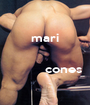 mari               cones  - Personalised Poster A1 size