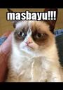 masbayu!!!  - Personalised Poster A1 size