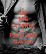 ME ATIREI NO PAU DO GATO - Personalised Poster A1 size