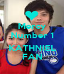 Mercy Number 1  KATHNIEL FAN - Personalised Poster A1 size