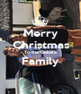Merry Christmas To the Gabela Family  - Personalised Poster A1 size