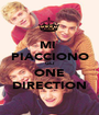MI  PIACCIONO GLI ONE DIRECTION - Personalised Poster A1 size