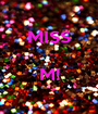 MISS   M!  - Personalised Poster A1 size