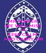MR HUNTER WE WILL MISS YOU KEEP CALM  AND CARRY ON - Personalised Poster A1 size