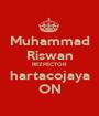 Muhammad Riswan REZPECTOR hartacojaya ON - Personalised Poster A1 size