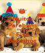 Muitos Parabéns Dia Feliz Elza Beijinhos - Personalised Poster A1 size