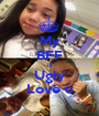 My BFF Is Ugly Love u - Personalised Poster A1 size