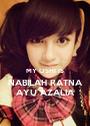 MY OSHI IS NABILAH RATNA AYU AZALIA - Personalised Poster A1 size