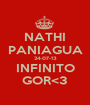 NATHI PANIAGUA 24-07-13 INFINITO GOR<3 - Personalised Poster A1 size