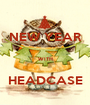 NEW YEAR  WITH  HEADCASE - Personalised Poster A1 size