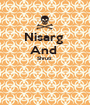 Nisarg  And  Shruti    - Personalised Poster A1 size