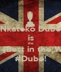 Nkateko Dube is the BITW (Best in the World) #Dube! - Personalised Poster A1 size