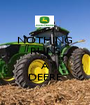 NOTHING RUNS LIKE A DEERE - Personalised Poster A1 size