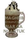 NUNGGU MAGHRIB NYRUPUT KOPI BIAR GA NGANTUK - Personalised Poster A1 size