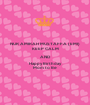 NUR AMIRAH MUSTAFFA (EMI) KEEP CALM AND Happy Birthday  Mom to Be - Personalised Poster A1 size