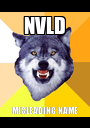 NVLD MISLEADING NAME - Personalised Poster A1 size