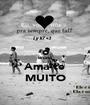 o Bruno Ama-te MUITO - Personalised Poster A1 size