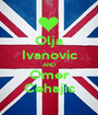 Olja Ivanovic AND Omer Cehajic - Personalised Poster A1 size